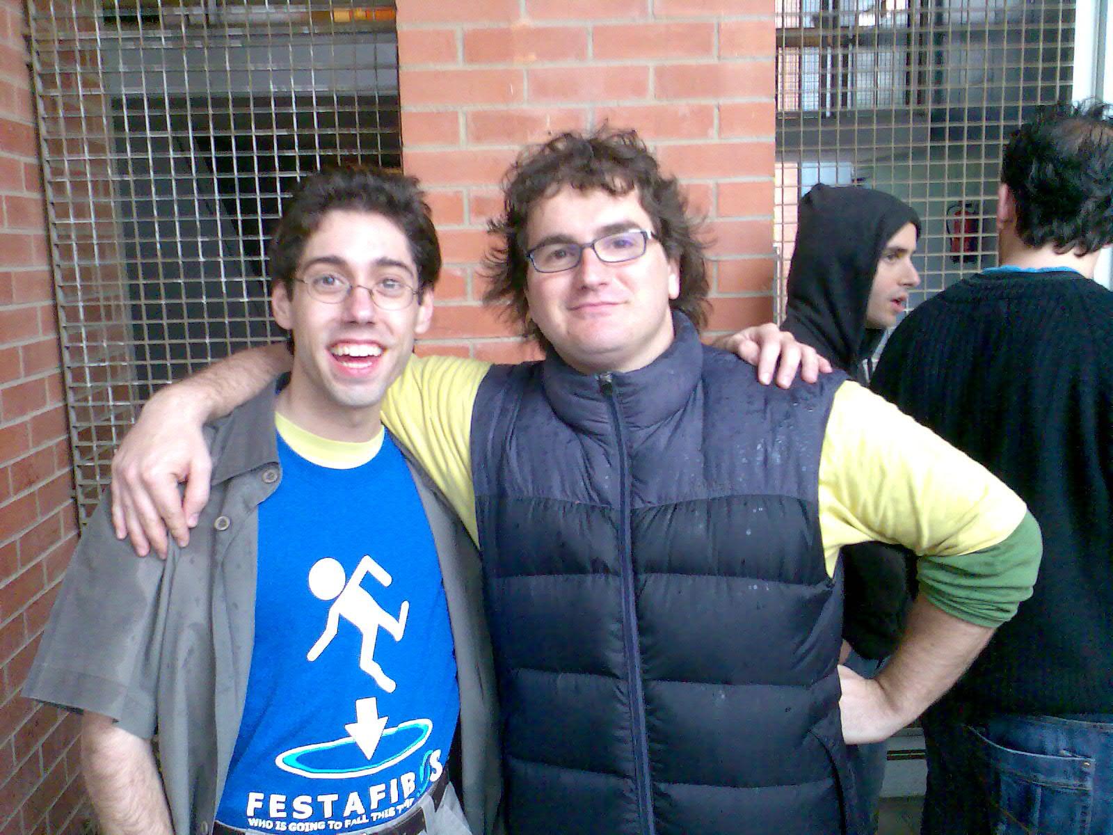 El Pitiflí i Marc Alier 2008