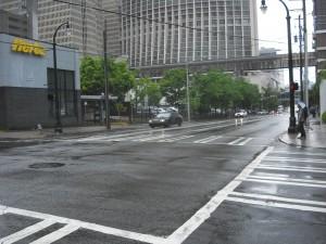 Atlanta, no hi ha quasi vianants