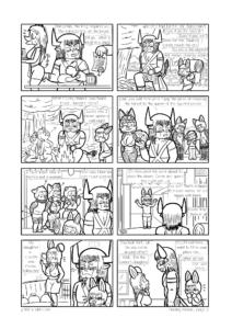 """Página 2 de la muestra de """"Finding Home"""""""