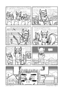 """Página 3 de la muestra de """"Finding Home"""""""