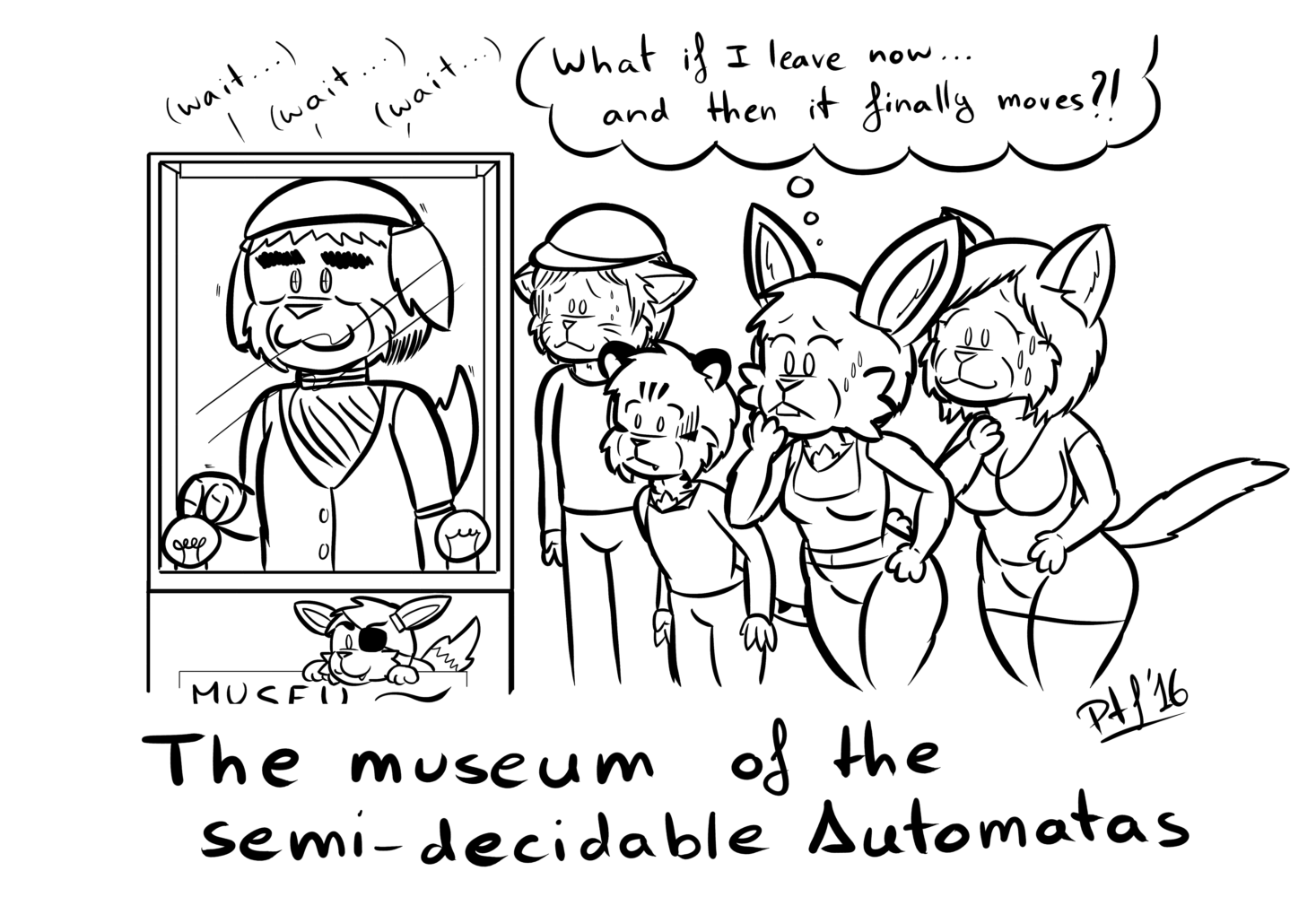 The Museum of Semi-Decidable Automatas