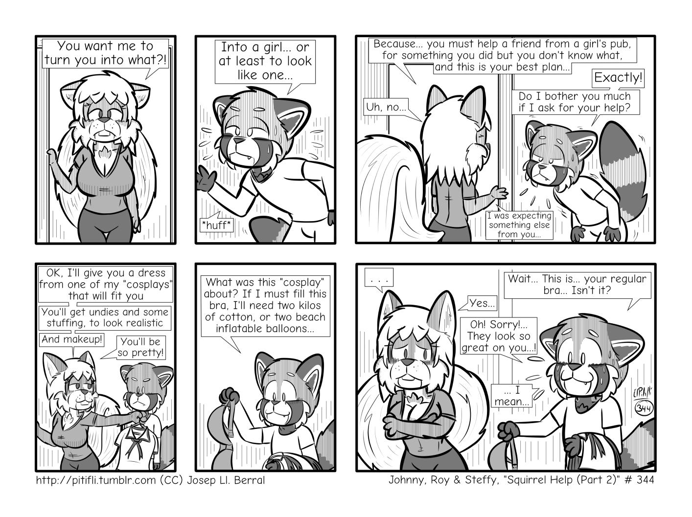 Squirrel Help (Part 2)