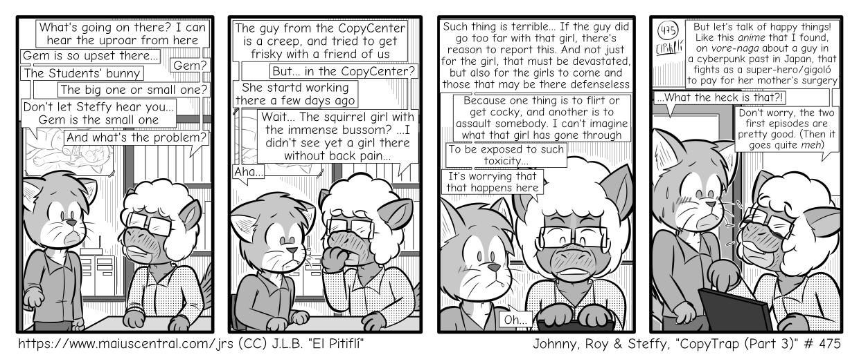 CopyTrap (Part 3)